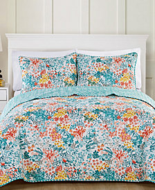 VCNY Home Kayla Reversible Quilt Set Collection