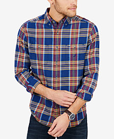 Nautica Men's Classic-Fit Plaid Flannel Shirt