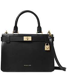 MICHAEL Michael Kors Tatiana Small Leather Satchel