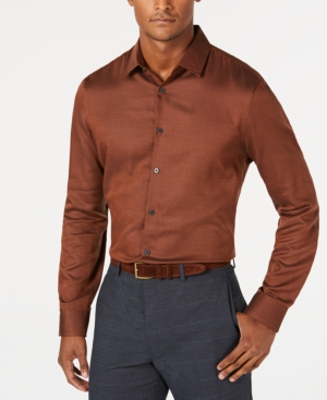 Alfani Men's Vesper Twill Shirt, Created for Macy's