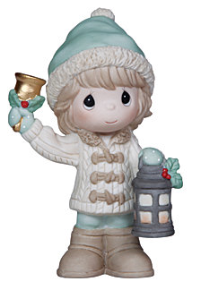 Precious Moments May Your Christmas Be Bright Figurine
