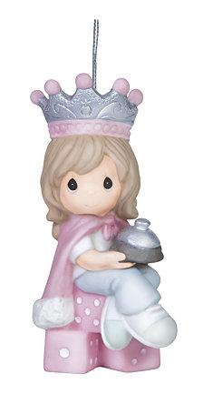 Precious Moments Bunco Queen Ornament