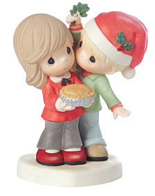 Merry Kissmas Sweetie Pie Figurine