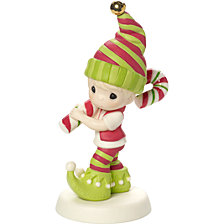 Wishing You Sweetest Holiday 2nd in Annual Elf Series Figurine