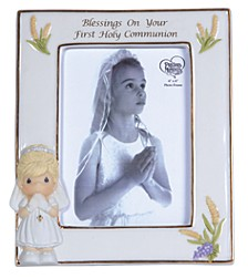 Blessings On Your First Holy Communion Photo Frame, Girl