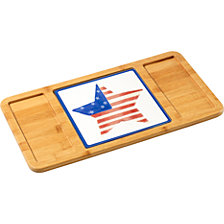Celebrations by Patriotic Star Cutting Board and Trivet