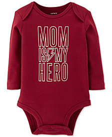 Carter's Baby Boys Mom Is My Hero Cotton Bodysuit