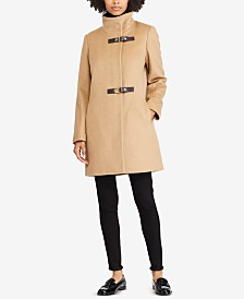 Lauren Ralph Lauren Buckle-Front Walker Coat