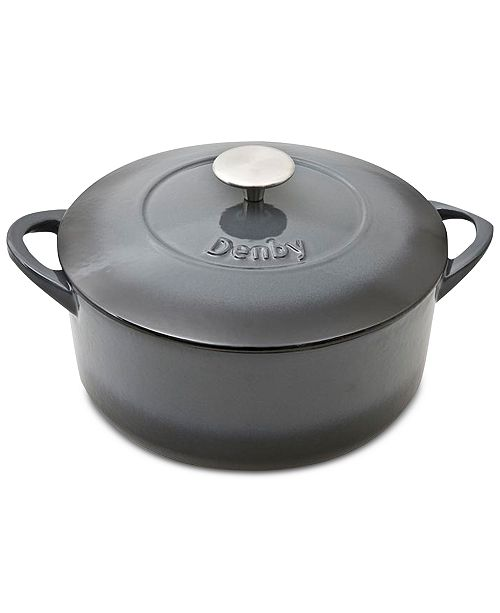 Denby Halo 4.25-Qt. Round Covered Casserole
