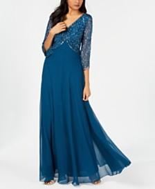 J Kara Embellished Gown