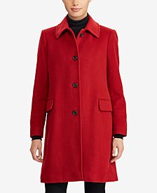 Lauren Ralph Lauren Cashmere Blend Walker Coat
