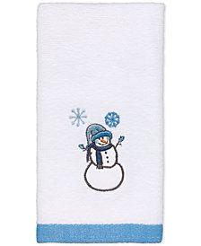 Avanti Let It Snow Embroidered Fingertip Towel