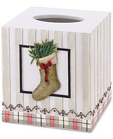 Avanti Farmhouse Holiday Tissue Cover
