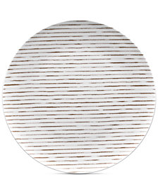 Noritake  Hammock Coupe Stripes Dinner Plate, Created for Macy's