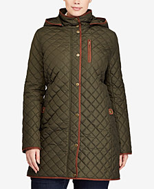 Lauren Ralph Lauren Plus Size Quilted Coat