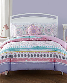 Lula 7 Pc Full Comforter Set