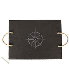 Cathy's Concepts Slate Compass Serving Board