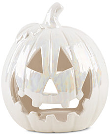 CLOSEOUT! Home Essentials Opal Glazed Pumpkin