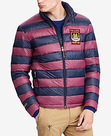 Polo Ralph Lauren Men's Big & Tall Packable Varsity Puffer Jacket