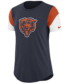 Nike Women's Chicago Bears Tri-Fan T-Shirt