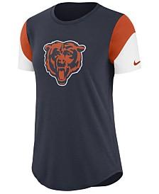 Nike Women's Chicago Bears Tri-Fan T-Shirt