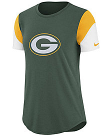 Nike Women's Green Bay Packers Tri-Fan T-Shirt