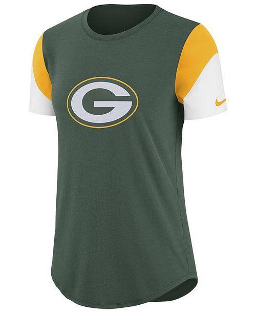 9f7973b9 Women's Green Bay Packers Tri-Fan T-Shirt
