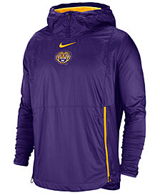 Nike Men's LSU Tigers Fly Rush Jacket