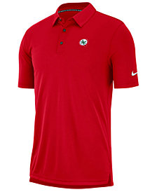 Nike Men's Ohio State Buckeyes Miniature Logo Polo