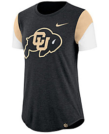 Nike Women's Colorado Buffaloes Tri-Blend Fan T-Shirt