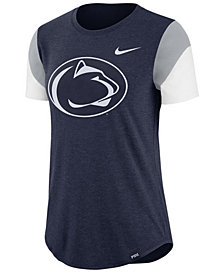 Nike Women's Penn State Nittany Lions Tri-Blend Fan T-Shirt