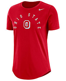 Nike Women's Ohio State Buckeyes Elevated Cotton T-Shirt