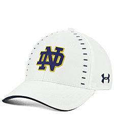 Under Armour Notre Dame Fighting Irish Blitzing Flex Stretch Fitted Cap