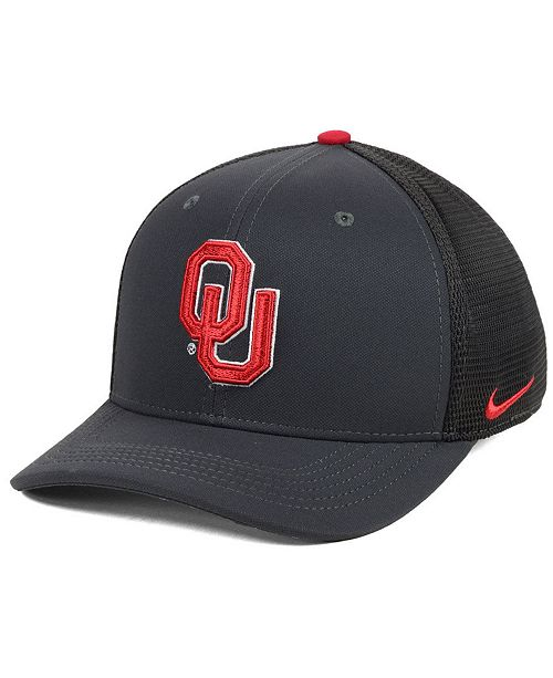 more photos ae380 d6ebf Nike. Oklahoma Sooners Col Aro Swooshflex Stretch Fitted Cap. Be the first  to Write a Review. main image ...