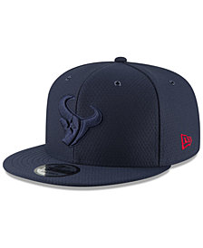 New Era Houston Texans On Field Color Rush 9FIFTY Snapback Cap