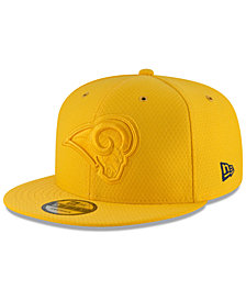 New Era Los Angeles Rams On Field Color Rush 9FIFTY Snapback Cap