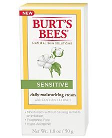 Burt's Bees Sensitive Daily Moisturizing Cream, 1.8 oz