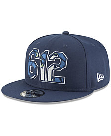 New Era Minnesota Timberwolves Area Code 9FIFTY Snapback Cap