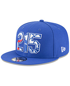 New Era Philadelphia 76ers Area Code 9FIFTY Snapback Cap