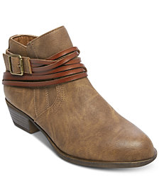 Madden Girl Barty Ankle Booties