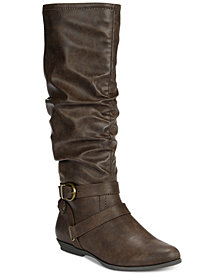 White Mountain Fairfield Boots, Created for Macy's