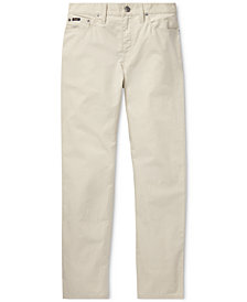 Polo Ralph Lauren Big Boys Varick Slim Fit Cotton Pants