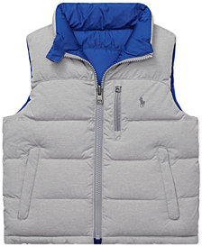 Polo Ralph Lauren Little Boys Reversible Quilted Down Vest