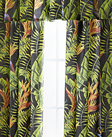 Flower Of Paradise Tailored Valance
