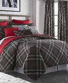 Max Plaid Comforter Set-King