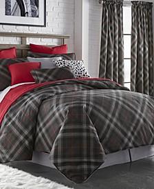 Max Plaid Comforter Set-Queen