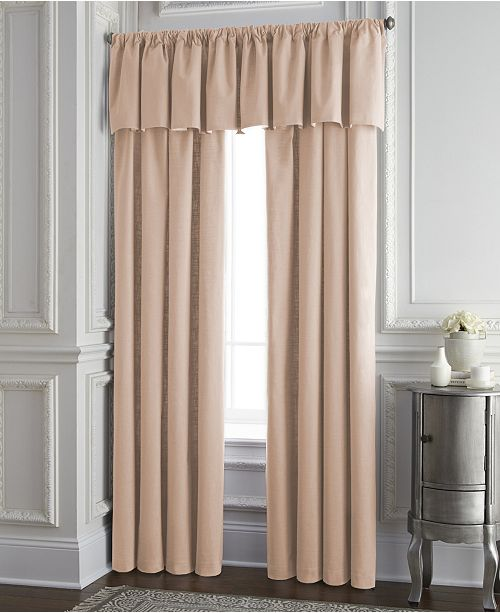"""Colcha Linens Cambric Peach Lined Drapery Panel 52""""x84"""" - Each"""