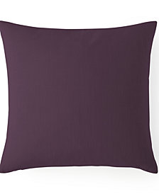 "Cambric Eggplant Square Cushion 20""x20"""