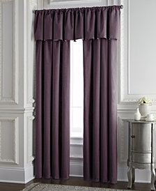 Cambric Eggplant Tailored Valance
