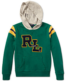 Polo Ralph Lauren Big Boys Cotton French Terry Hoodie